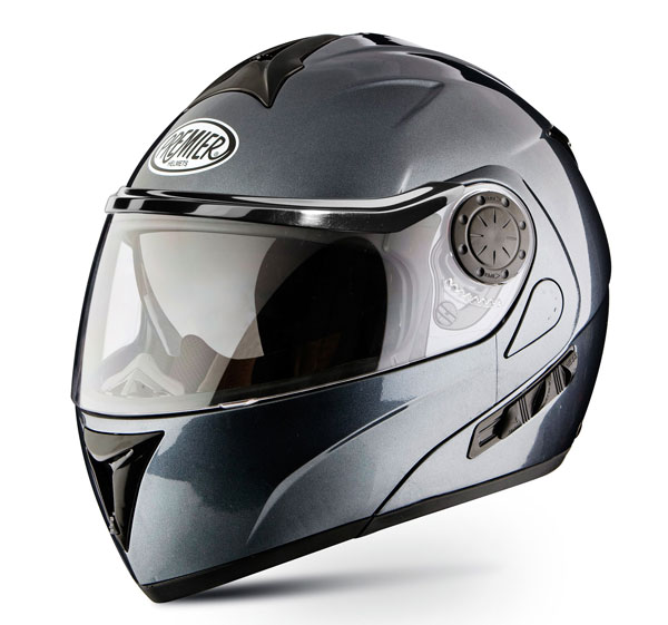 Modular Motorcycle Helmet Premier DREAM LINER titanium double vi