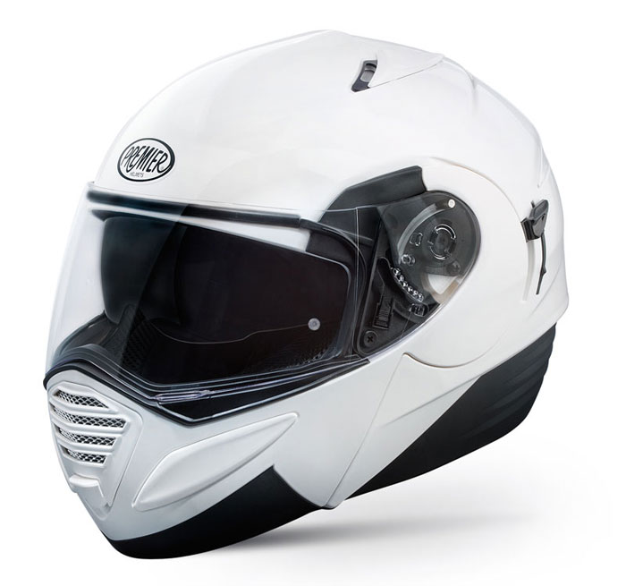 Premier Thesis flip off helmet White