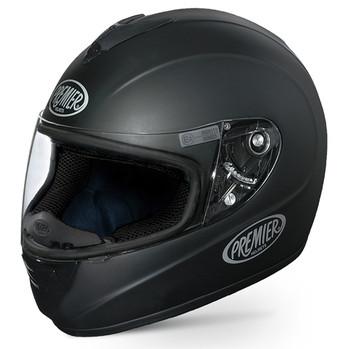 Full face helmet Premier Monza fiber matt black