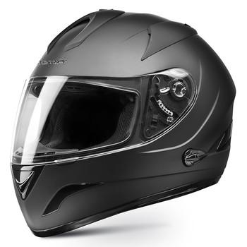 Premier phase double visor full face helmet matt black