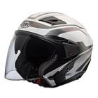 Casco moto jet Premier BLISS doppia visiera multi x8