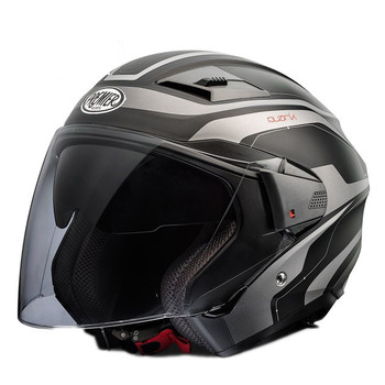 Casco moto jet Premier BLISS doppia visiera multi x9bm