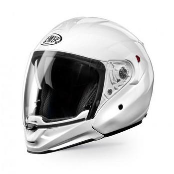 Motorcycle flip off helmet Premier JT4 ALL ROAD white