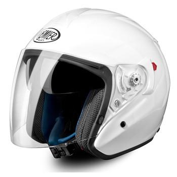 jet Premier touring motorcycle helmet visor JT4 long white