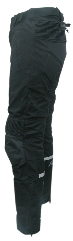 Fabric woman trousers Black