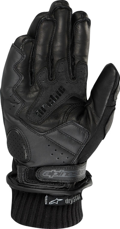 Alpinestars Arctic Drystar textile-leather gloves black