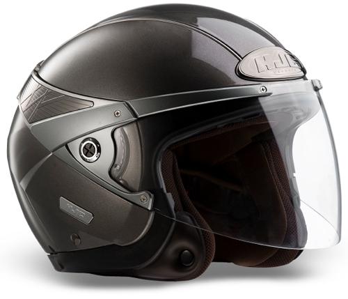 HJC Arty jet helmet Anthracite