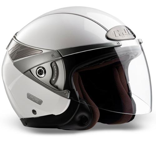Casco moto jet HJC Arty Bianco