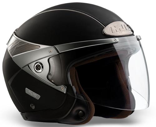 HJC Arty jet helmet Matt Black