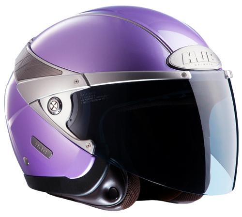 Casco moto jet HJC Arty Violetto