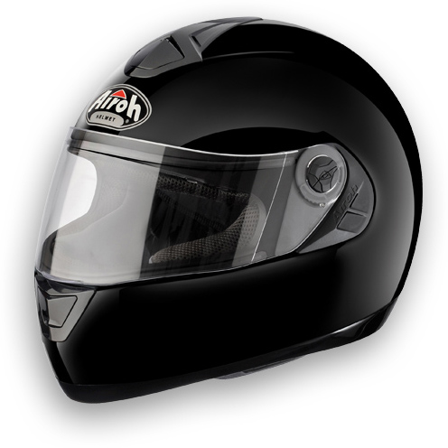 Motorcycle Helmet Airoh Aster-X Color glossy black