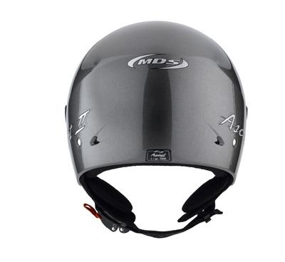 MDS by Agv Ascot II Mono jet helmet col. gunmetal