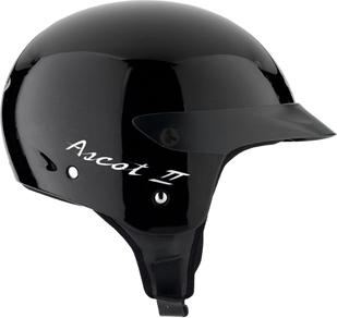 Casco moto Mds By Agv Ascot II Mono nero lucido