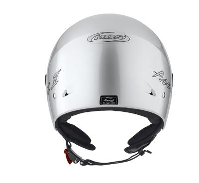 MDS by Agv Ascot II Mono jet helmet col. silver