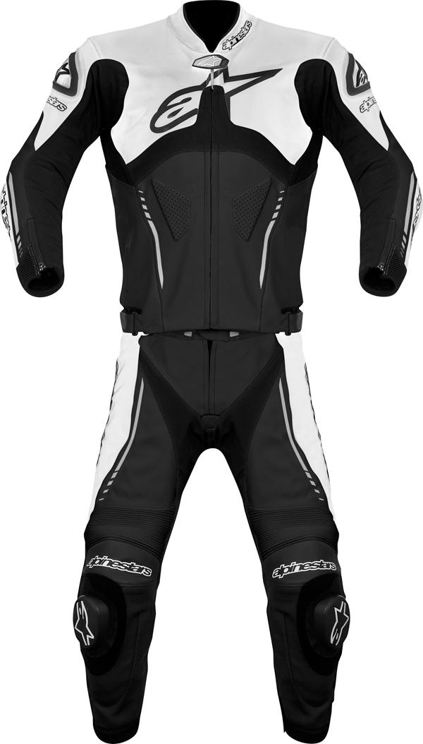 Alpinestars  Atem Combi 2 pieces leather suit black-white