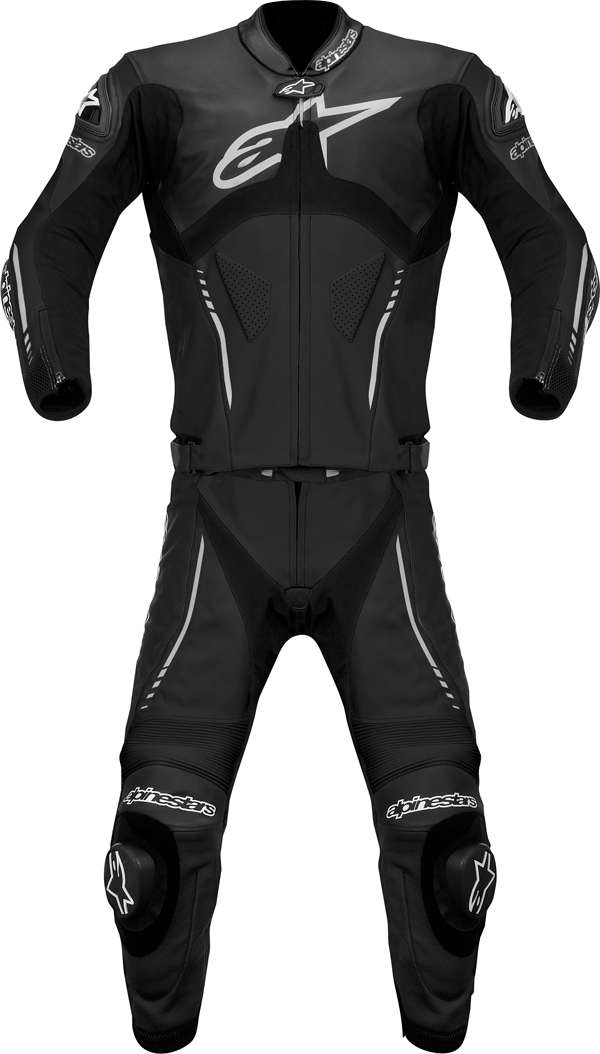 Alpinestars  Atem Combi 2 pieces leather suit black