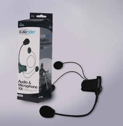 Audio Kit Q2 pro doppio autoparlante conn. MP3 Cardo