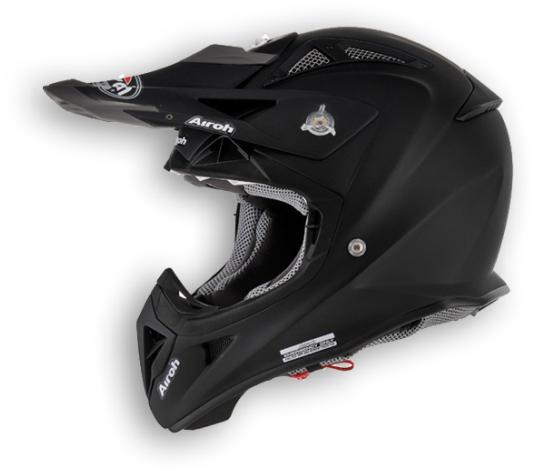 Airoh Aviator Color off-road helmet black matt