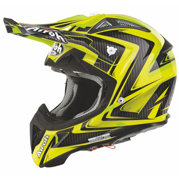 Aiorh Avuiator 2,.1 Arrow ywllo fluo offroad helmet