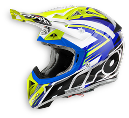 Casco cross Airoh Aviator 2.1 Replica Van Horebeek lucido