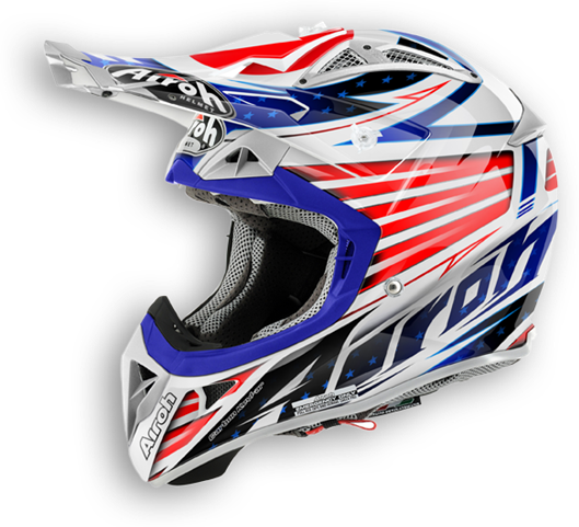 Casco cross Airoh Aviator 2.1 Valor lucido