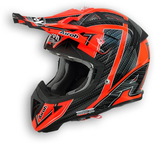 Airoh Aviator 2.1 Viper offorad helmet orange gloss