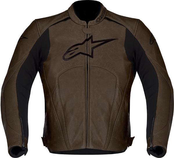 Alpinestars Avant leather jacket brown