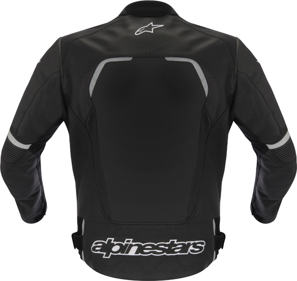 Giacca moto pelle Alpinestars Avant nera