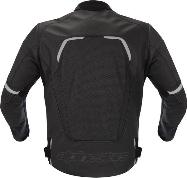 Alpinestars Avant Perforated leather jacket black