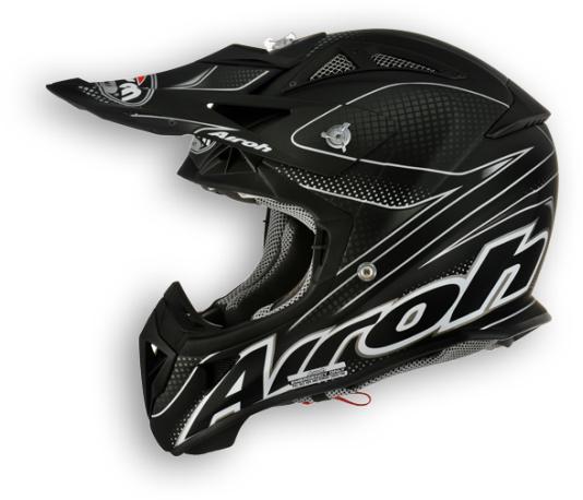 Airoh Aviator Linear Off-Road helmet matt black