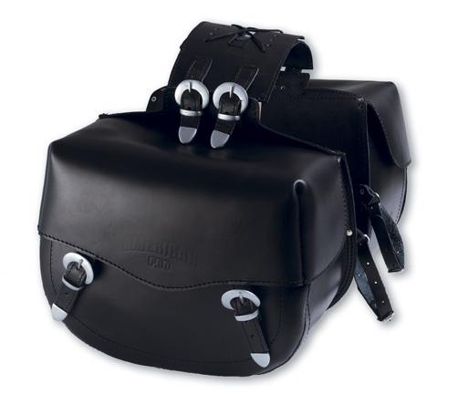 A-PRO Big Tail Custom Leather Saddle-Bags