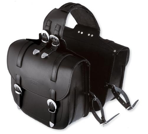 A-PRO Dirt Custom Leather Saddle-bags