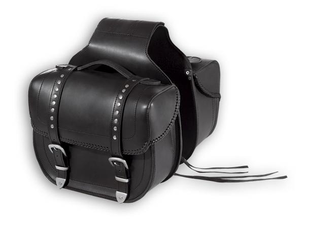 A-PRO Wolf Custom Leather Saddle-Bags
