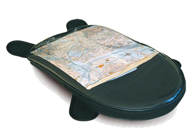 Bagster black magnetic map holder