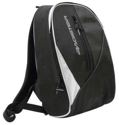 Bagster Tracker Bag White-Black