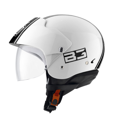 Casco moto Agv Bali II Multi B3 bianco-nero