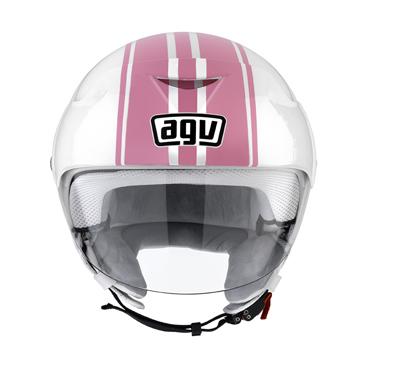 AGV Bali II Mullti B3 white/pink