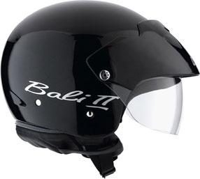 Casco moto Agv Bali II Mono nero lucido