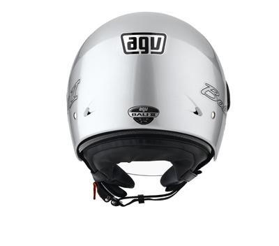 AGV Bali II Mono open face helmet col. silver