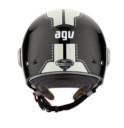 AGV Bali Copter Multi Chopper open-face helmet col. gunmetal/cre