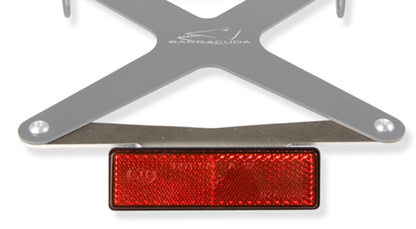 Barracuda N-CAT universal reflector kit -all type license plate