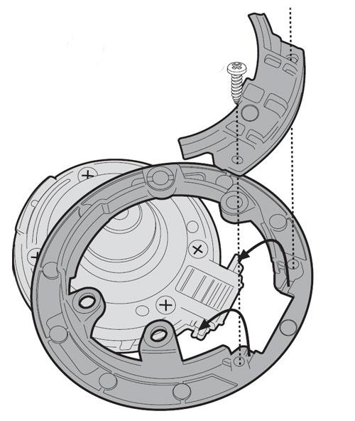 metal flange BF06K for TankLock for BMW R 1200 R/GS