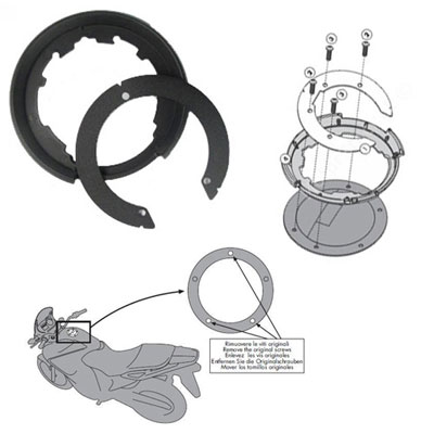 Metal flange BF11K for ducati 1200 for Tanklock