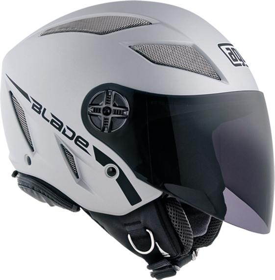 Agv Blade Air-Net Mono matt silver open face helmet