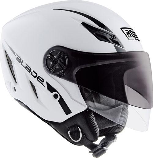 Agv Blade Mono open face helmet white gloss
