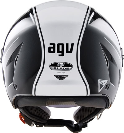 Agv Blade Multi Start open face helmet black-white