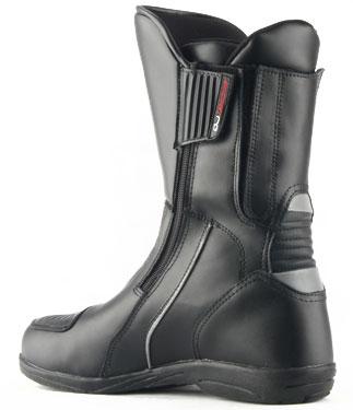 Oj Long Way motorcycle boots black