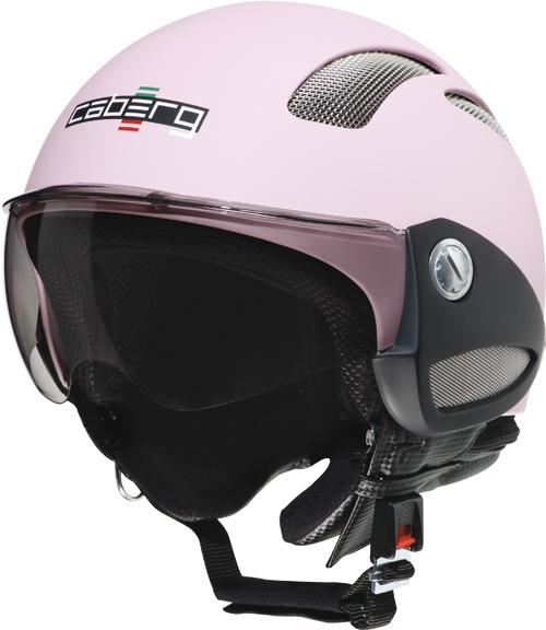 Casco moto Caberg Breeze rosa opaco
