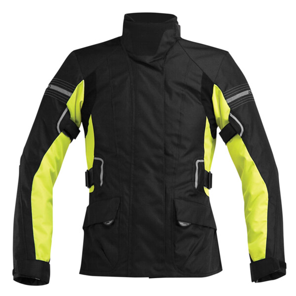 Motorcycle jacket woman Acerbis Bray Hill High Visibility