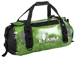 Amphibious Waterproof Bag Clear 45 Green Voyager